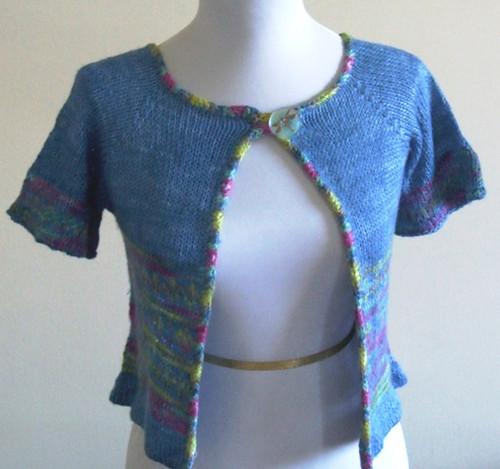 Kerrie's cardigan design