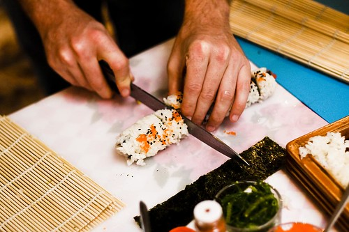 rogueApron Roll Your Own Sushi