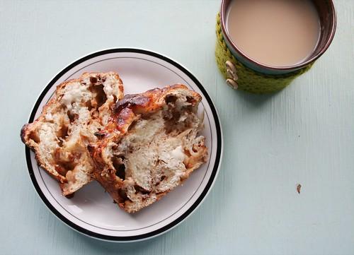 Apple Bread Breakfast