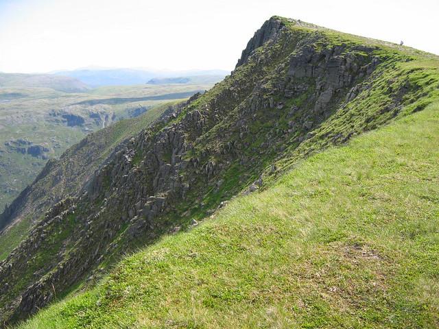 Approach ridge to Sgor Gaoith