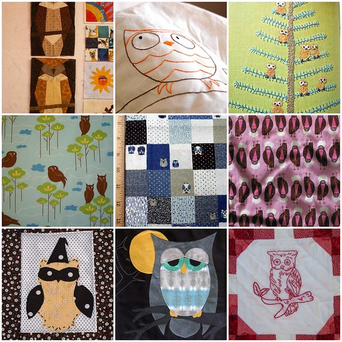Owl Quilt Ideas