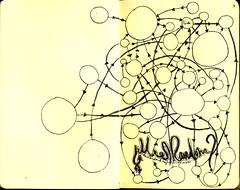 Circles & arrows connecting