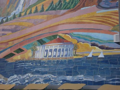 Disney's California Adventure Park Mosaic Mural