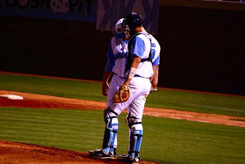 baseball: nc state @ unc, game one