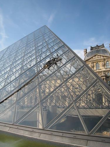 Nettoyage de pyramide