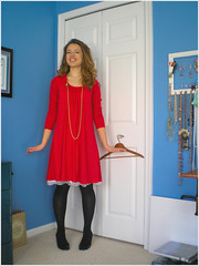 02.14.08 {a valentine frock!}