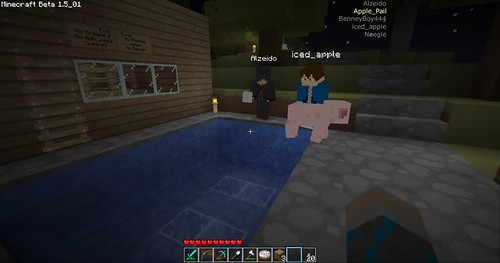 Minecraft - Hello Piggy