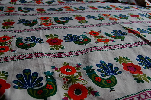 Soon to be Kitchen Curtains