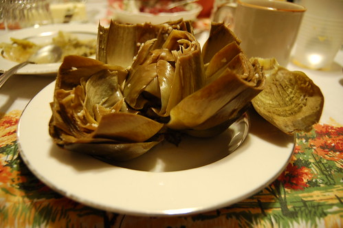 It is not a holiday without artichokes