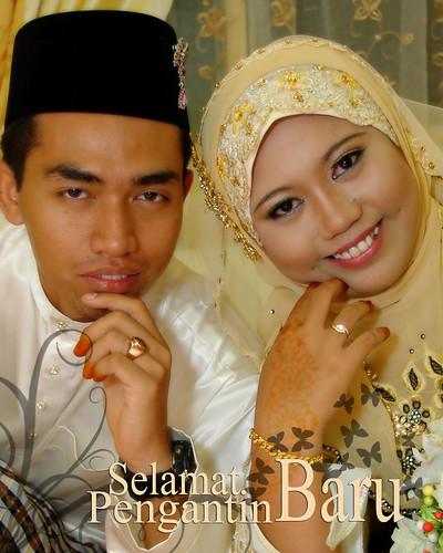 selamat pengantin baru..