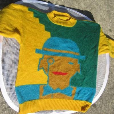 Thrift Store Find: 80s Sweater