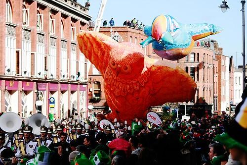 St Patrick's Day Parade, Dublin, 2008