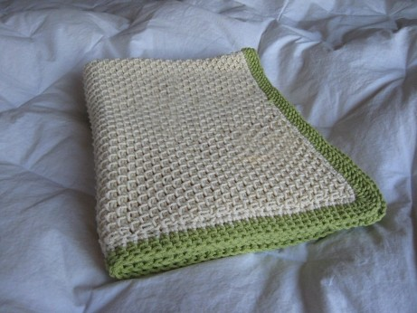 * Beautiful baby blanket - just fantastic!  :)