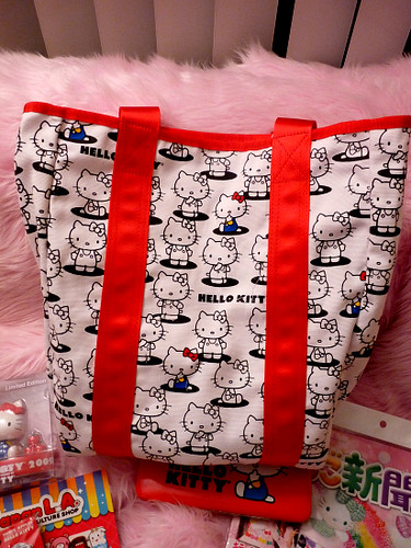 Hello Kitty Tote reverse side