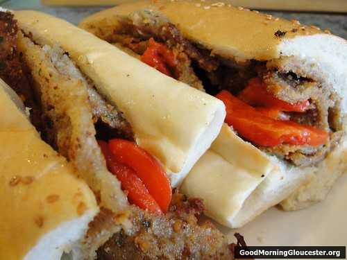 Mudiga Steak Sandwich At Fort Square Cafe