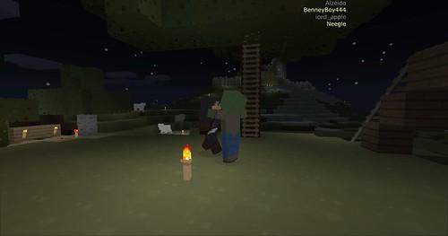 Minecraft - Zombie Hug