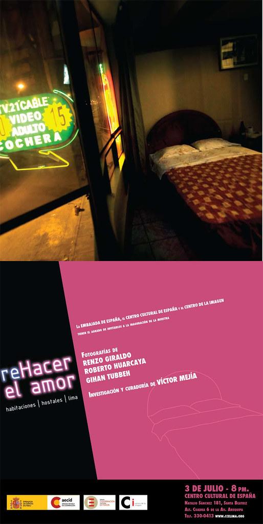 "Muestra fotográfica: ""reHacer el amor"" en el CCELIMA"