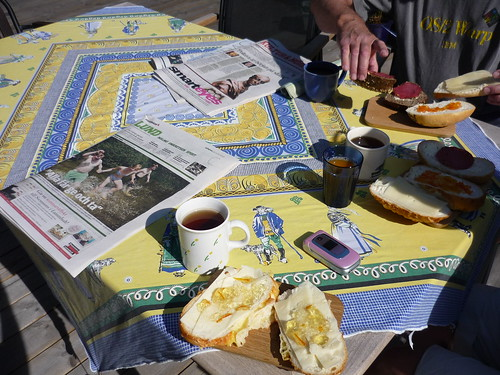 Swedish summer breakfast