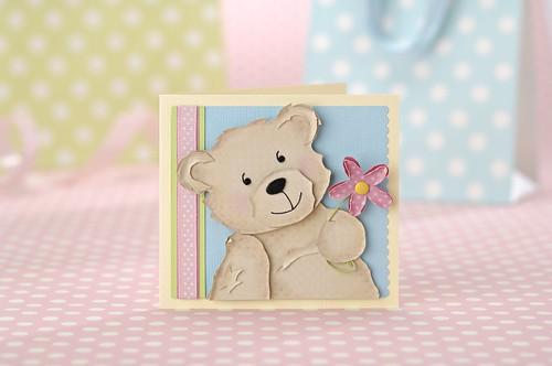 Heres an cute example of a card that appears in PaperCraft inspirations.