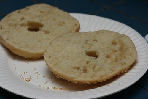 Sliced Bagel