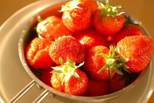 I love strawberries!