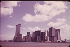 Manhattan Skyline from the Staten Island Ferry 05/1973