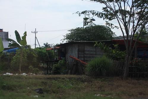 Blechhütte in Surabaya