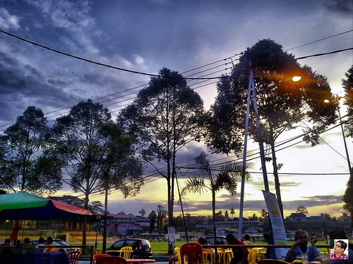 tapah view from shamli bistro