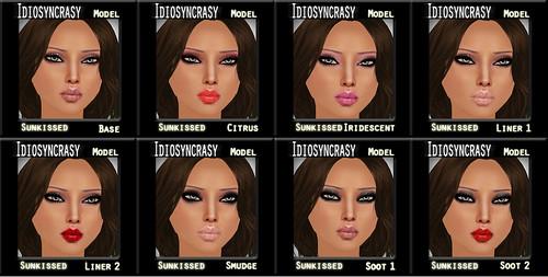 model sun makeups
