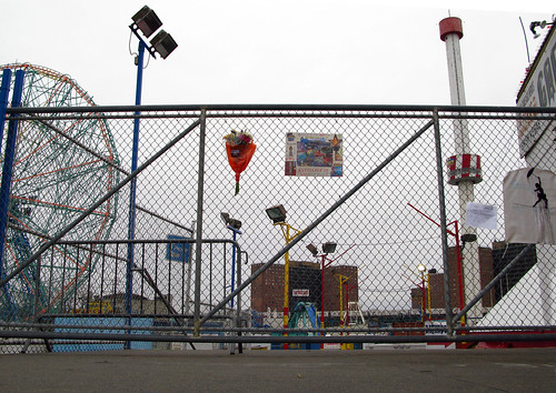 The Original Astroland Shrine, December 26, 2008. Photo © Bruce Handy (Pablo57) via flickr