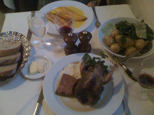 Dinner at St John
