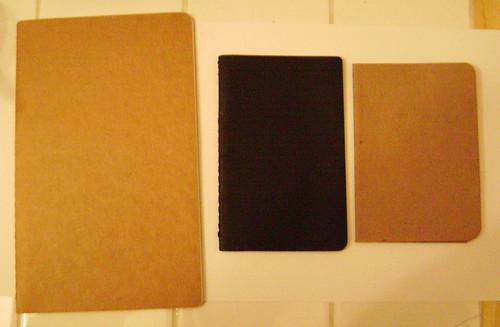 Moleskine Cahier ~vs~ Mock-skine Cahier