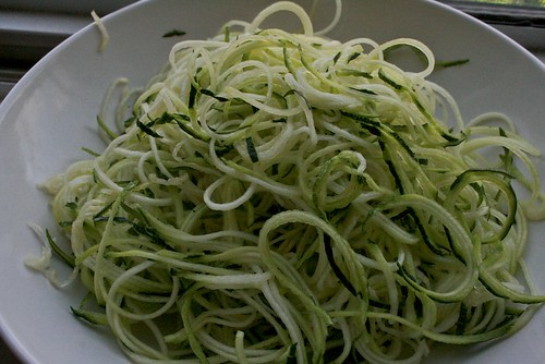 Angel Hair Zucchini Pasta