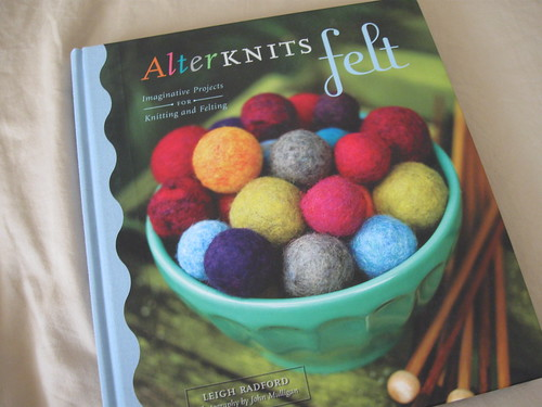 My new Alterknits Felt book