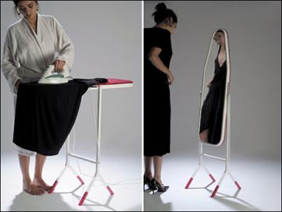 Ironing Board-Mirror