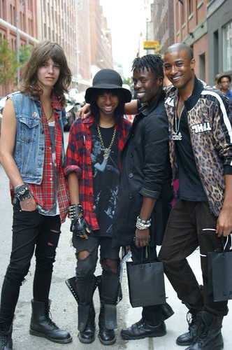 Best Dressed Boys at the L.A.M.B. Show 2