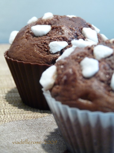 Muffins croccanti,cacao e caffé