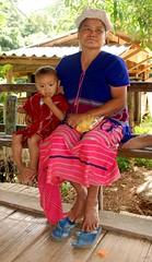 Karen people, rice growing in Doi In