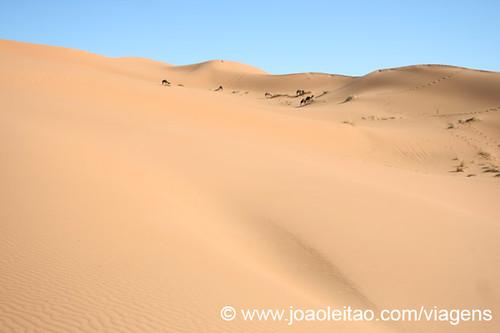 Dunas de Erg Chebbi em Merzouga Marrocos