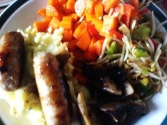 korean carrot sausage and mash ultima fusion
