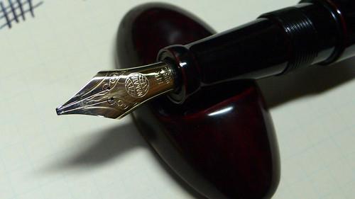 Nakaya Fountain Pen/Music nib