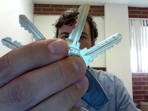 You've got keys