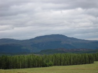 Fort Augustus to Aviemore Vista point