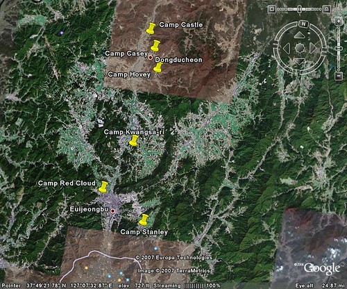 camp kwangsa ri the first camp in the casey area is called camp kwangsa ri which is located halfway between dongducheon and uijongbu