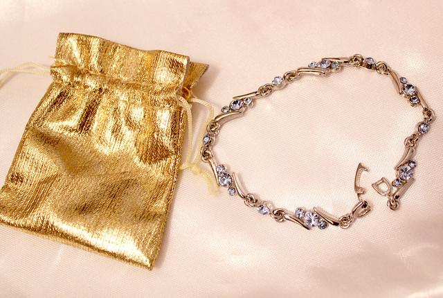 silver bracelet edit