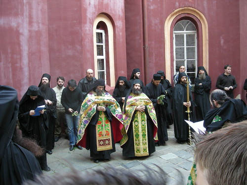 Vatopedi Monastery: Palm Sunday