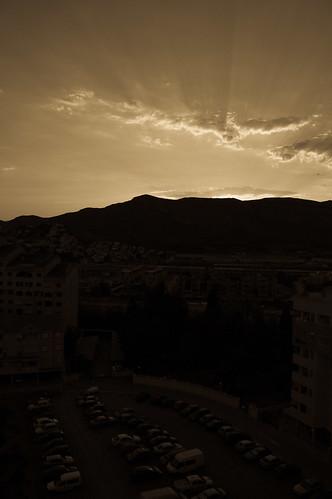 Puesta de sol en Oropesa (I)