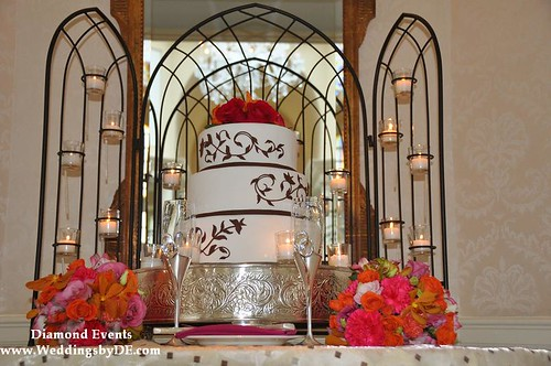 Wedding Cake by the Fairmont Washington D.C.