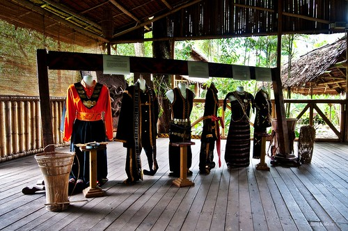 Traditional Kadazzn Dusun Murut costumes