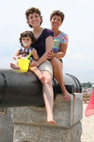 Three Generations on the Cannons
